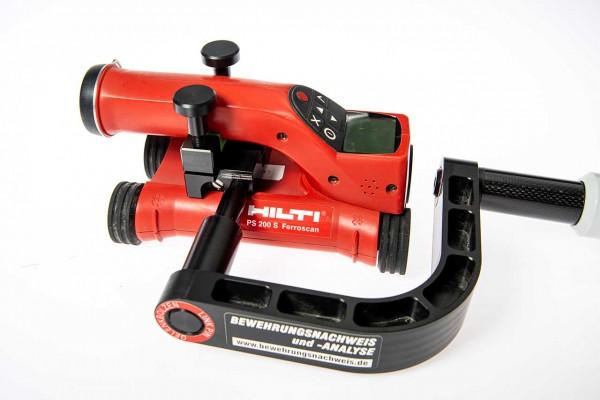 Scannerverlängerung für Hilti Ferroscan PS200/250 für Bodenanwendung incl. CFK - Stange 1300mm