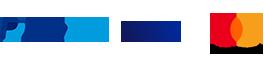 PayPal Visa Mastercard Vorkasse